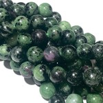 Natural Zoisite Beads 8mm Round