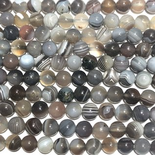 Botswana AGATE Natural 6mm Round