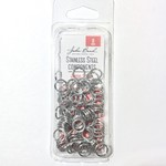 Stainless Steel Jump Rings 8mm 100pcs