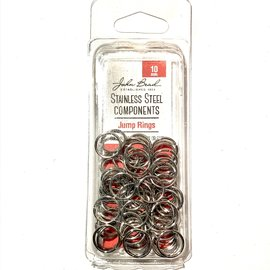 Stainless Steel Jump Rings 10mm 75pcs