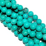 Xinjiang Turquoise Natural 8mm Round