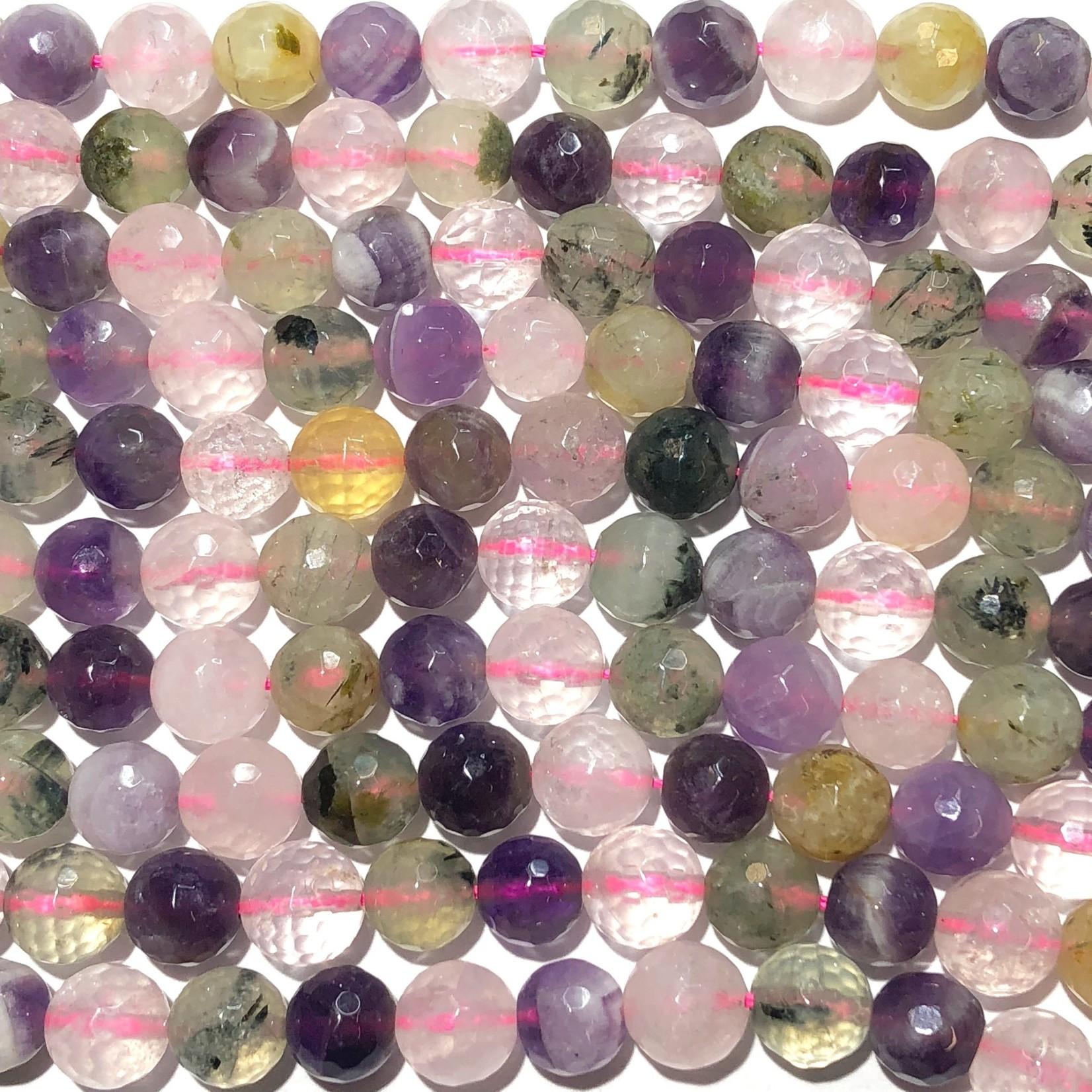 Assorted Gemstones Natural 8mm Faceted