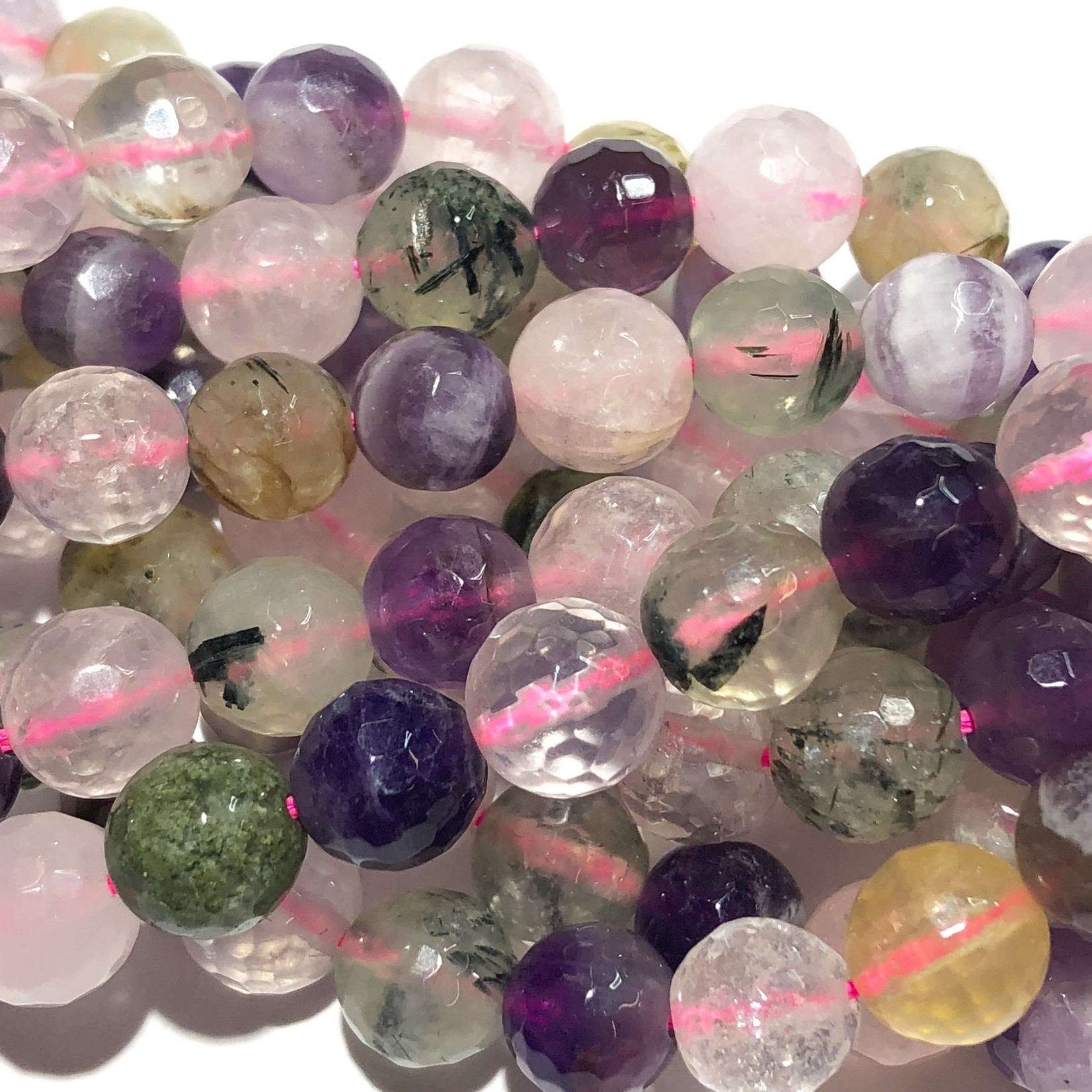 Assorted Gemstones Natural 8mm Faceted