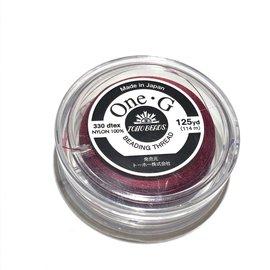 TOHO One-G Thread Burgundy 125yd
