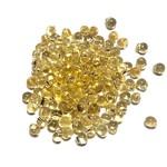 MIYUKI Drop Transparent Silver Lined Gold 10g