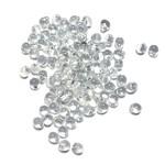 MIYUKI Drop Sparkle Pewter Lined Crystal 10g