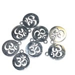 Stainless Steel 14mm OHM Charm 3pcs/Pkg
