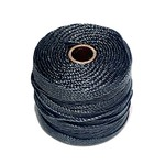 S-Lon Nylon Bead Cord Black .4mm 77 Yard Roll