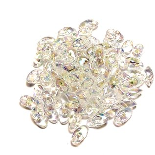 MIYUKI Long Magatama Crystal AB 10g