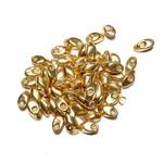 MIYUKI Long Magatama Galvanized Gold 10g