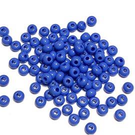 PRECIOSA PonyBead Opaque Med Dk Blue 6-0 100g
