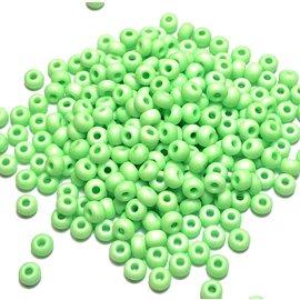 PRECIOSA PonyBead Opaque Neon Green 6-0 100g