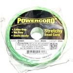 POWERCORD Stretch Cord Green .8mm @ 75ft/pkg