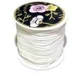 Nylon Bead/Knot CORD 0.8mm 120m/roll WHITE