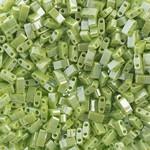 MIYUKI Tila Half Cut Op Chartreuse Luster 10g
