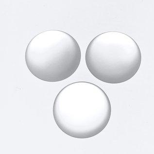 Lunasoft Cabochon Round 24mm Pearl