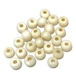 Bone Beads 6mm Round 100pcs