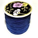 Nylon Bead/Knot CORD 0.8mm/120m - Dk Blue
