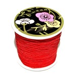 Nylon Bead/Knot CORD 0.8mm/120m -Xmas Red