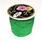 Nylon Bead/Knot CORD 0.8mm/120m - Xmas Green