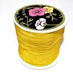 Nylon Bead/Knot CORD 0.8mm/120m - Goldenrod