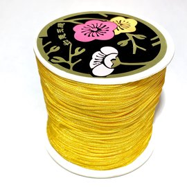 Nylon Bead/Knot CORD 0.8mm/120m - Goldenrod