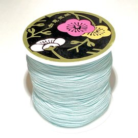 Nylon Bead/Knot CORD 0.8mm/120m - Baby Blue
