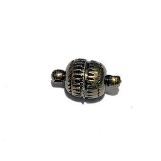 Antique Bronze Brass Magnetic Clasp 14 x 8mm 4/pkg