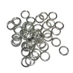 Stainless Steel 18Ga SWG Jump Rings 7x1mm 100pcs