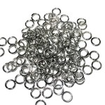 Stainless Steel 18Ga SWG Jump Rings 6x1mm 100pcs