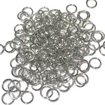 Stainless Steel 18Ga SWG Jump Rings 8x1mm 100pcs