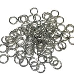 Stainless Steel 18Ga AWG Jump Rings 8x1.2mm 100 pcs