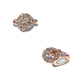 RS Magnetic Clasp Rose Gold 16x10mm 2pcs