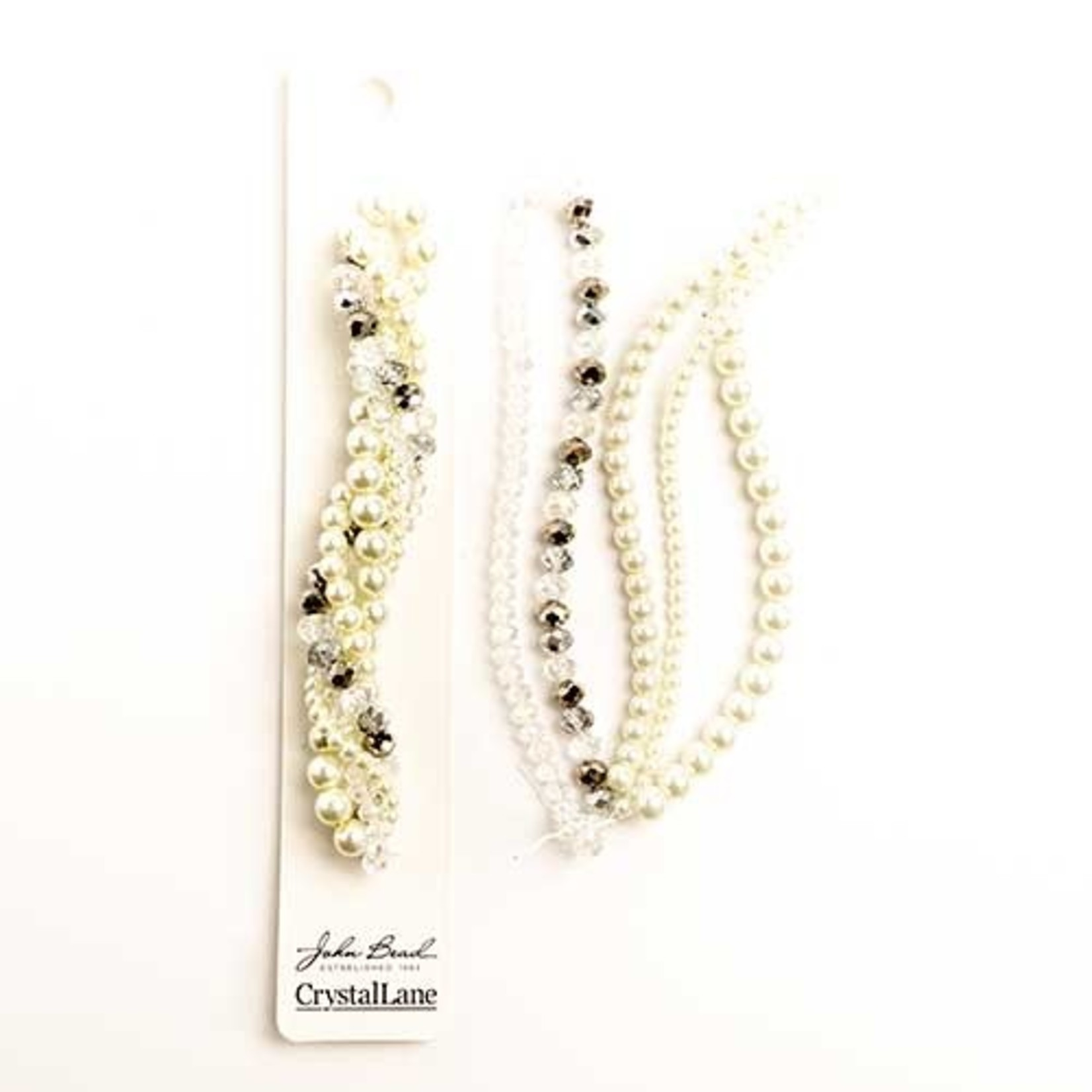 Crystal Lane Twisted Bead Strands Baneberry