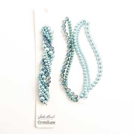 Crystal Lane Twisted Bead Strands Succulent