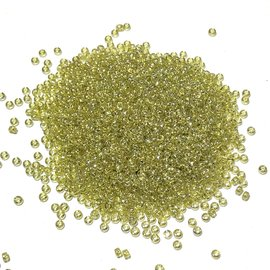 MIYUKI Rocaille 15-0 Trans Golden Olive Lust 10g