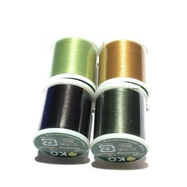 KO Beading Thread 330 Tex 4 Rolls Forest Mix