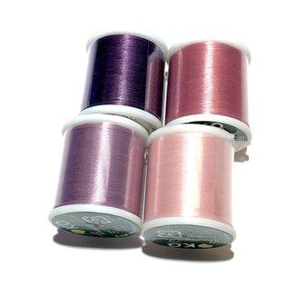 KO Beading Thread 330 Tex 4 Rolls Lip Gloss Mix