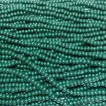 PRECIOSA Dark Green Opaque Lustre 6-0 Hanks