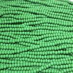 PRECIOSA Green Opaque 6-0 Hanks