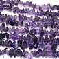 "AMETHYST Natural Chip Beads 32"" Strand"
