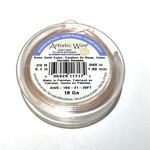 Artistic Wire Rose Gold Colour 18Ga 20ft