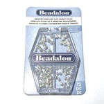 Beadalon Memory Wire End Caps Variety Pack 72pcs