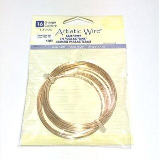 Artistic Wire Gold Colour 16Ga 10ft