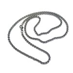 """CHAIN Stainless Steel 4mm Wheat 24"""""""