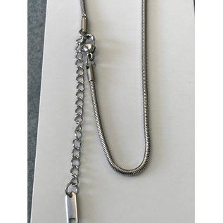 """CHAIN Stainless Steel 1.9mm Snake 16"""""""
