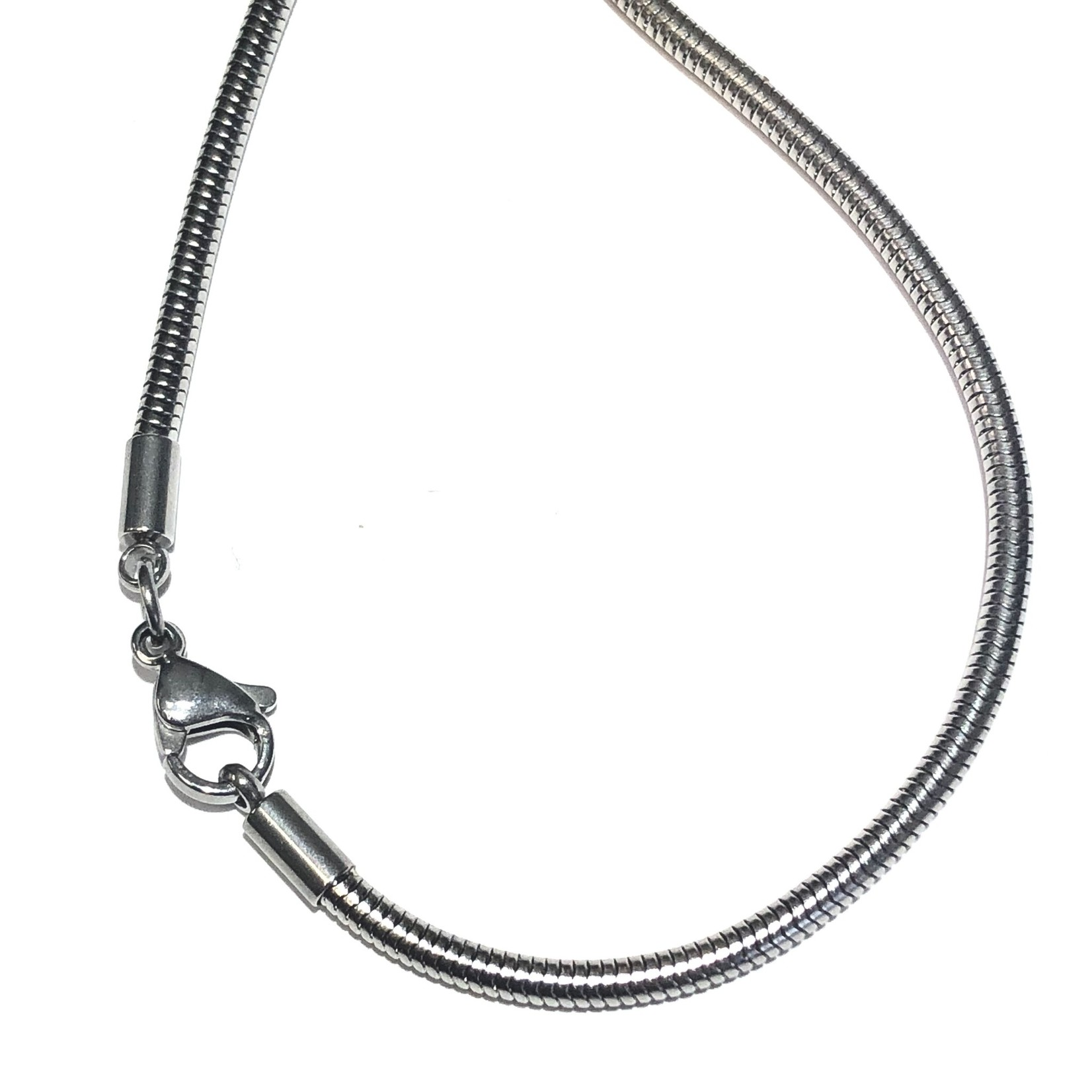 """CHAIN Stainless Steel 2.4mm Snake 20"""""""