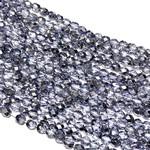 MATUBO Firepolish Met Crystal Lavender 4mm