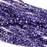 Firepolish Metallic Ice Crystal Violet 4mm