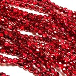 Firepolish Metallic Ice Crystal Pomegranate 4mm